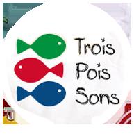 Logo Drei Fische Trois Poissons